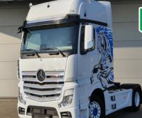 راس شاحنة اكتروس موديل 2020 استيراد للبيع في جدة