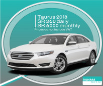 Ford Taurus 2018 for rent (Free delivery for monthly rental)